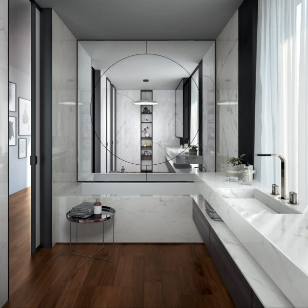 Infinity MB07 CalacattaLincoln Ambiente Bagno Generale
